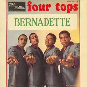 Bernadette (Four Tops song) - Image: Four tops bernadette