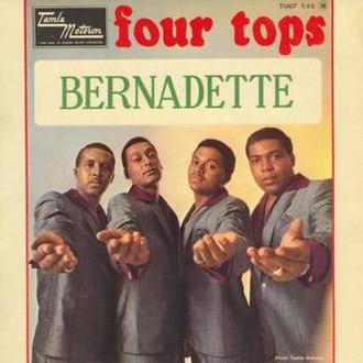 Bernadette (Four Tops song) - Image: Four tops bernadette