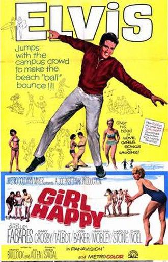 Girl Happy - Image: Girl Happy Elvis P