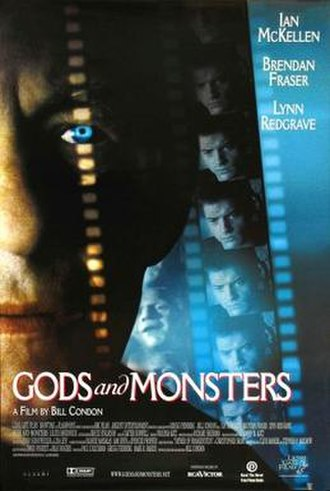 Gods and Monsters (film) - Theatrical release poster