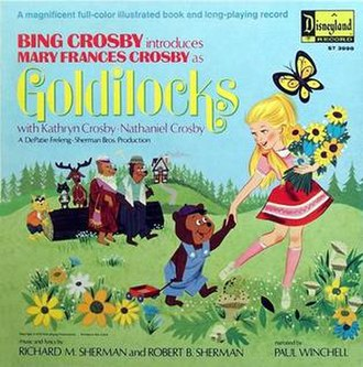 Goldilocks (album) - Image: Goldilocks (Bing Crosby album) album cover