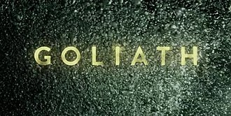 Goliath (TV series) - Image: Goliath, 2016 TV series, title card