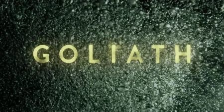 Goliath, 2016 TV series, title card