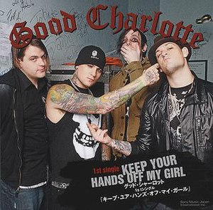 Keep Your Hands off My Girl - Image: Good charlotte kyhomg jap front