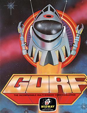 Gorf - Arcade flyer for Gorf