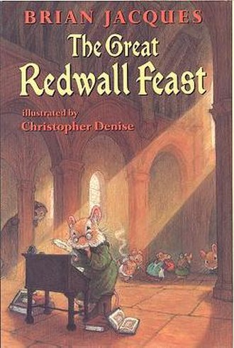 The Great Redwall Feast - First US Edition Cover
