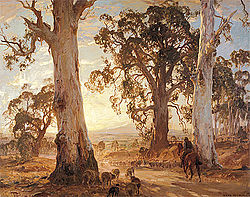Norman Lindsay Oil Paintings