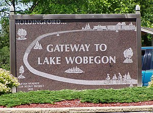 Some say that Lake Wobegon is near Holdingford