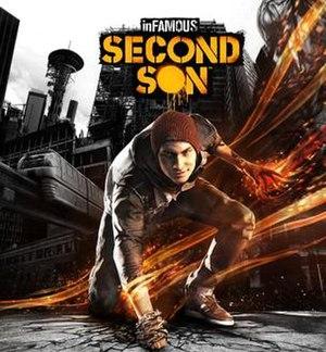Infamous Second Son - Image: Infamous second son boxart