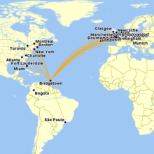 international flights
