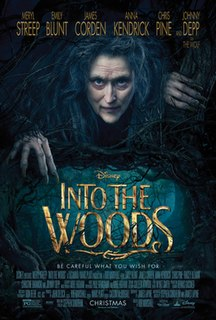 <i>Into the Woods</i> (film) 2014 film produced by Walt Disney Pictures