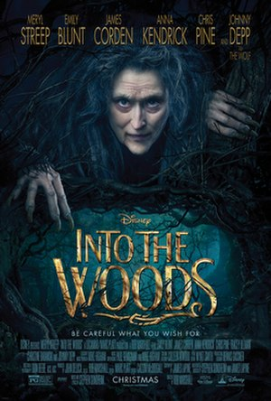 Into the Woods (film) - Theatrical release poster