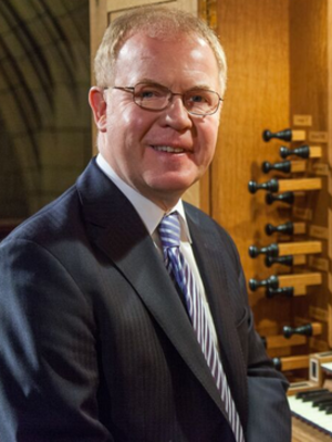 John Scott (organist) - Scott at St Thomas Church, New York, 2014