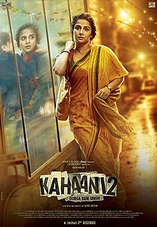 <i>Kahaani 2: Durga Rani Singh</i> 2016 Indian film directed by Sujoy Ghosh