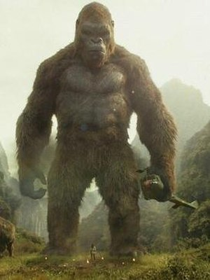 Kong: Skull Island - Kong as designed for Kong: Skull Island