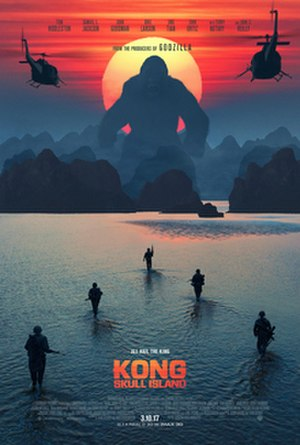 Kong: Skull Island - Theatrical release poster