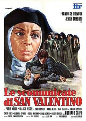 The Sinful Nuns of Saint Valentine - Theatrical release poster