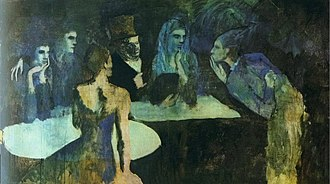 Les Noces de Pierrette - Pablo Picasso, Les Noces de Pierrette, (1905) 23.5
