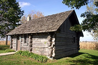 Little House on the Prairie - Little House replica at the Little House Wayside