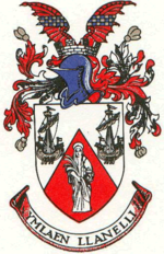 Arms of Llanelli Borough Council