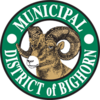 Official seal of Municipal District of Bighorn No. 8