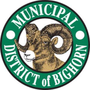 Municipal District of Bighorn No. 8 - Image: Logo of MD of Bighorn, Alberta, Canada