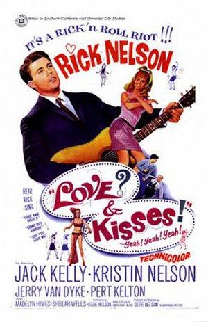 Love and Kisses (film) - theatrical movie poster