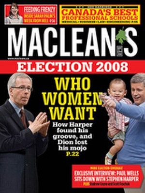 Maclean's - Cover of Maclean's, September 22, 2008, issue