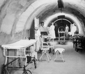 Angels of Bataan - Malinta Tunnel hospital ward (Armed Forces Institute of Pathology)