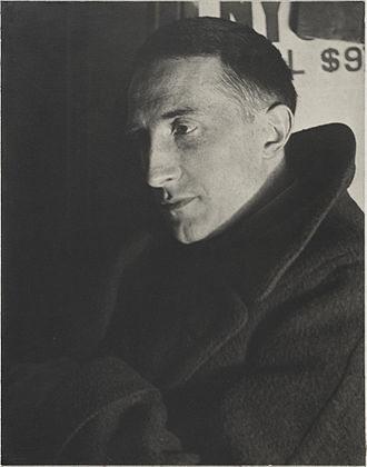 Marcel Duchamp - Portrait of Marcel Duchamp, 1920–21 by Man Ray, Yale University Art Gallery