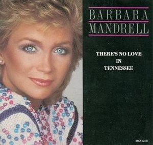 There's No Love in Tennessee - Image: Mandrell No Love Tennessee single