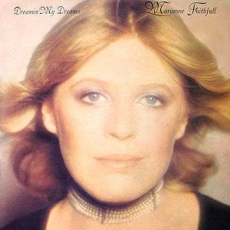 Dreamin' My Dreams (Marianne Faithfull album) - Image: Marianne Faithfull Dreamin My Dreams