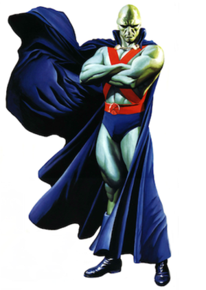 Martian Manhunter - Image: Martian Manhunter Alex Ross