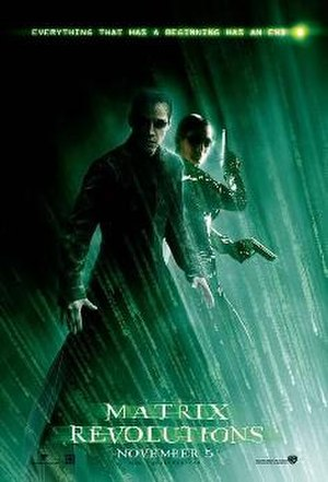 The Matrix Revolutions - Theatrical release poster