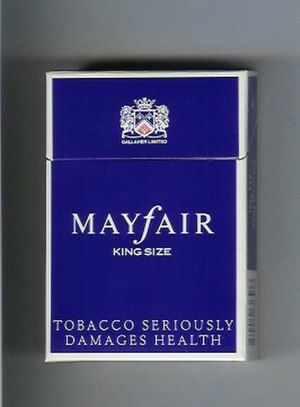 Mayfair (cigarette) - Image: Mayfair King Size (Full Flavour)