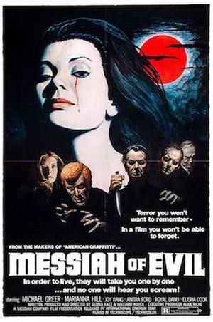 Messiah of Evil - Original USA movie poster