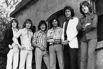 "Miami Showband killings - The Miami Showband in 1975; one of the last photos of the band before the attack L–R: Tony Geraghty, Fran O'Toole, Ray Millar, Des McAlea (""Des Lee""), Brian McCoy, Stephen Travers"