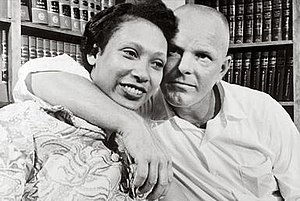 Loving v. Virginia - Mildred and Richard Loving in 1967