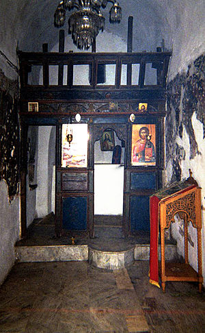 Kifissia - The monastery chapel of the Virgin of the Swallow (Panagia Chelidonas).