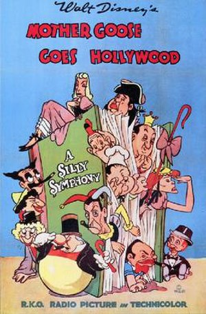 Mother Goose Goes Hollywood - Theatrical release poster