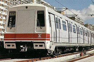 MTR Metro Cammell EMU (DC) -  Exterior of an unrefurbished M-Train EMU