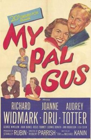 My Pal Gus - Theatrical release poster