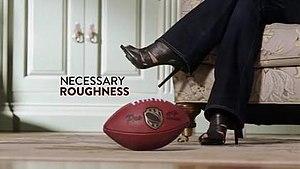 Necessary Roughness (TV series) - Necessary Roughness original intertitle