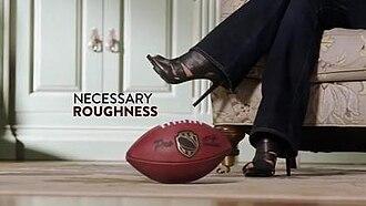 Necessary Roughness (TV series) - Necessary Roughness original intertitle