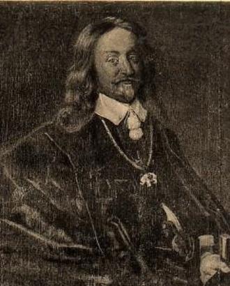 1656 in Norway - Niels Trolle