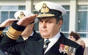 Nikolaos Pappas - Nikolaos Pappas as Vice Admiral, 1980s