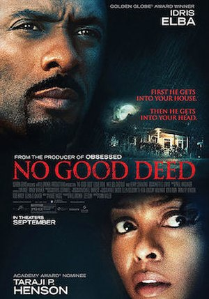 No Good Deed (2014 film) - Theatrical release poster