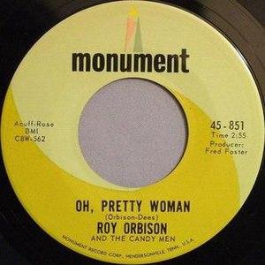 Oh, Pretty Woman - Image: Ohprettywoman