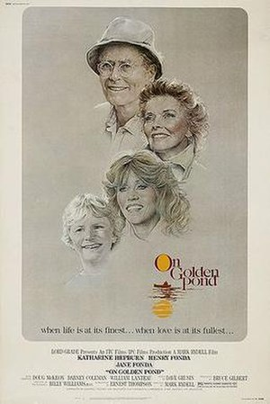 On Golden Pond (1981 film) - Movie poster by Bill Gold