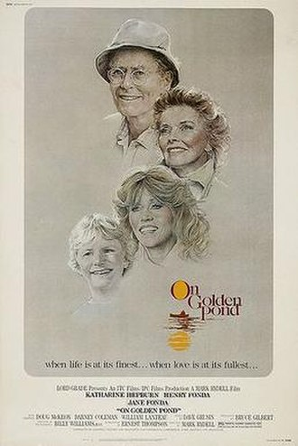 On Golden Pond (1981 film) - Movie poster by Bill Gold